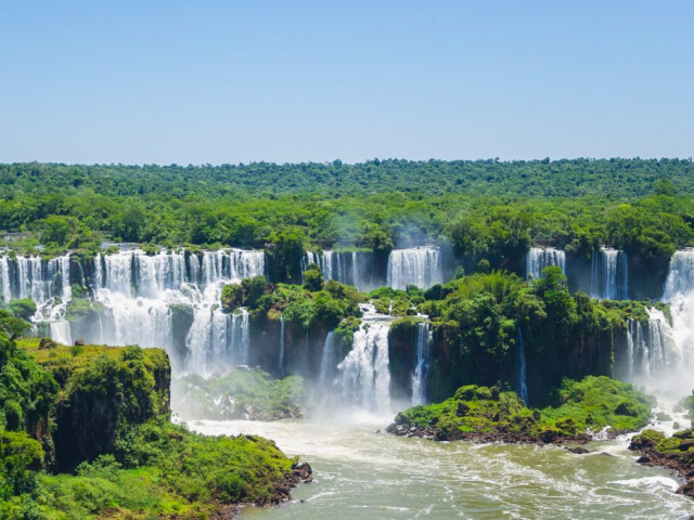 South America Getaway   Iguassau Falls, Brazil