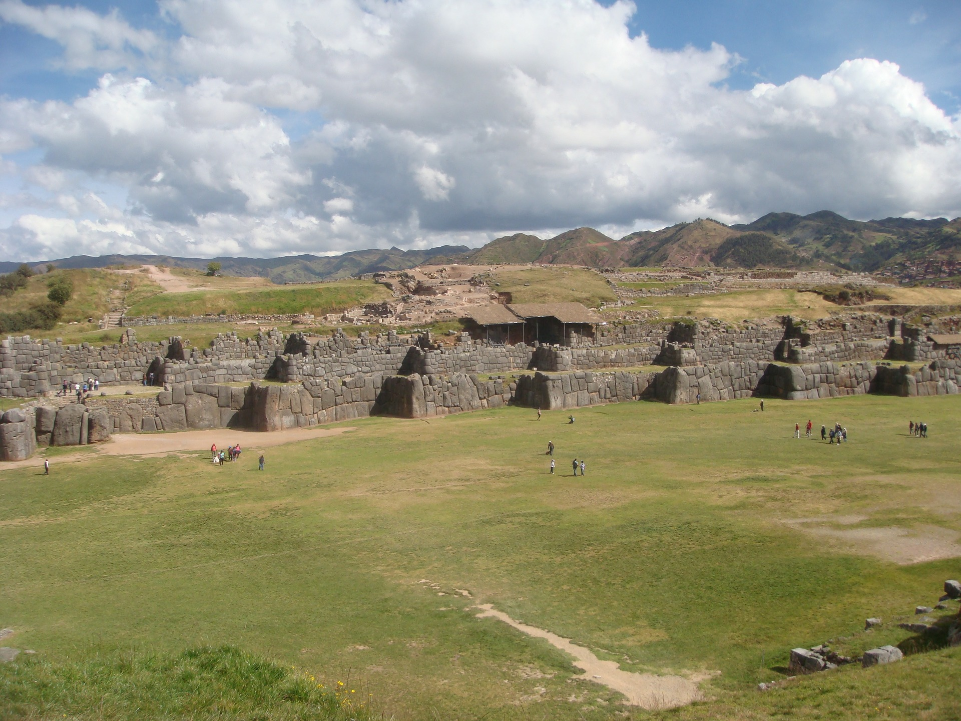 South America Revealed | Inca Ruins, sacsayhuaman, Cusco, Peru