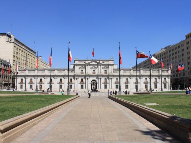 Brazil, Argentina & Chile Unveiled   La Moneda Government Palace, Santiago, Chile