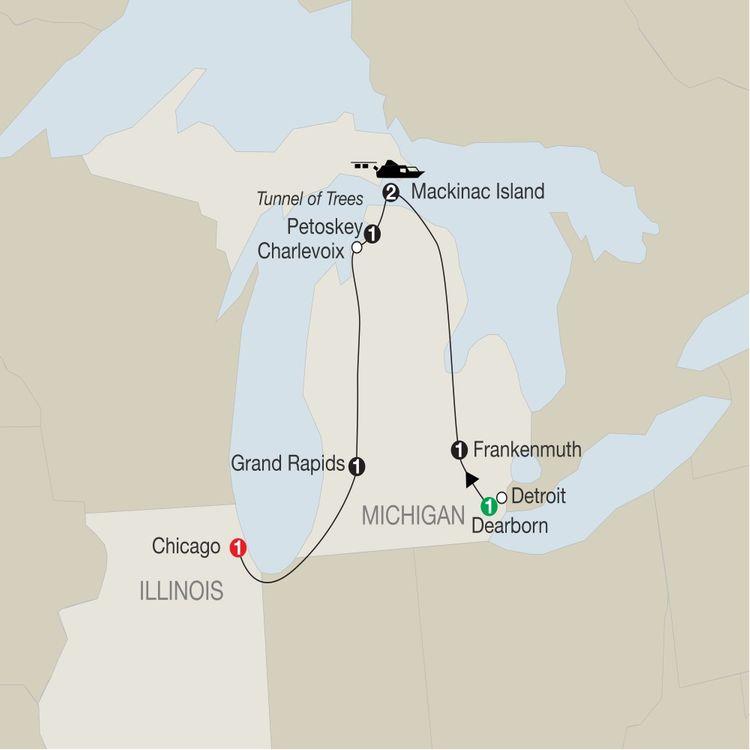 Mackinac Island & The Great Lakes