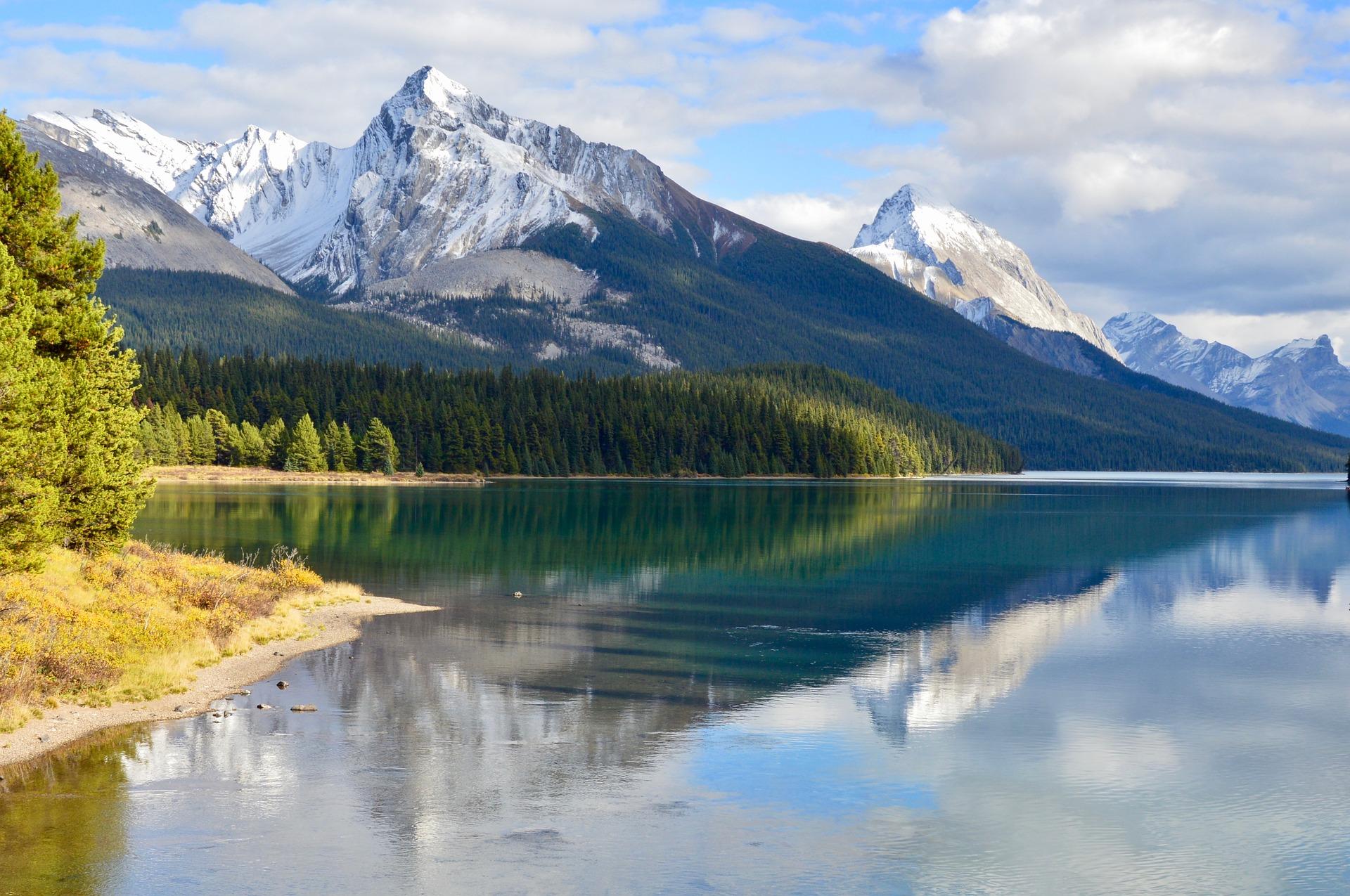 Spectacular Canadian Rockies | Maligne Lake, Jasper, Canada