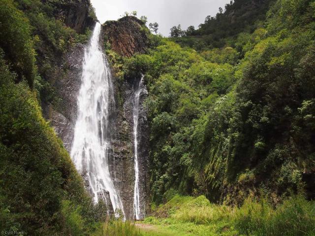 Hawaii Four Island Adventure | Manawaiopuna Falls, Kauai, Hawaii