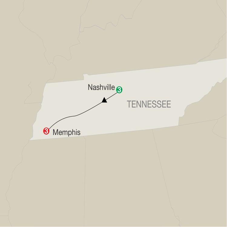 Music Cities: Nashville & Memphis