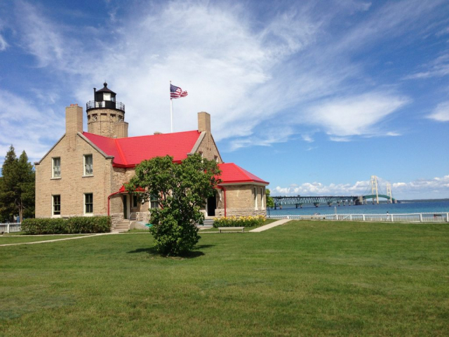Mackinac Island & The Great Lakes | Old Mackinac Point Lighthouse State Park, Mackinaw City, Michigan, USA