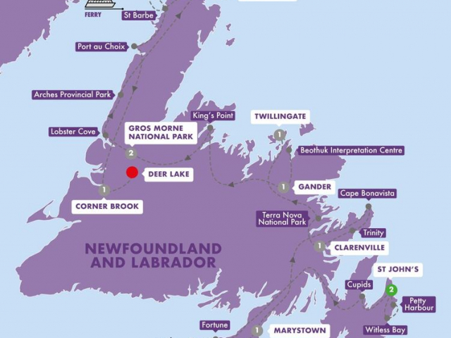 Scenic Wonders of Newfoundland, Labrador & Ile Saint Pierre
