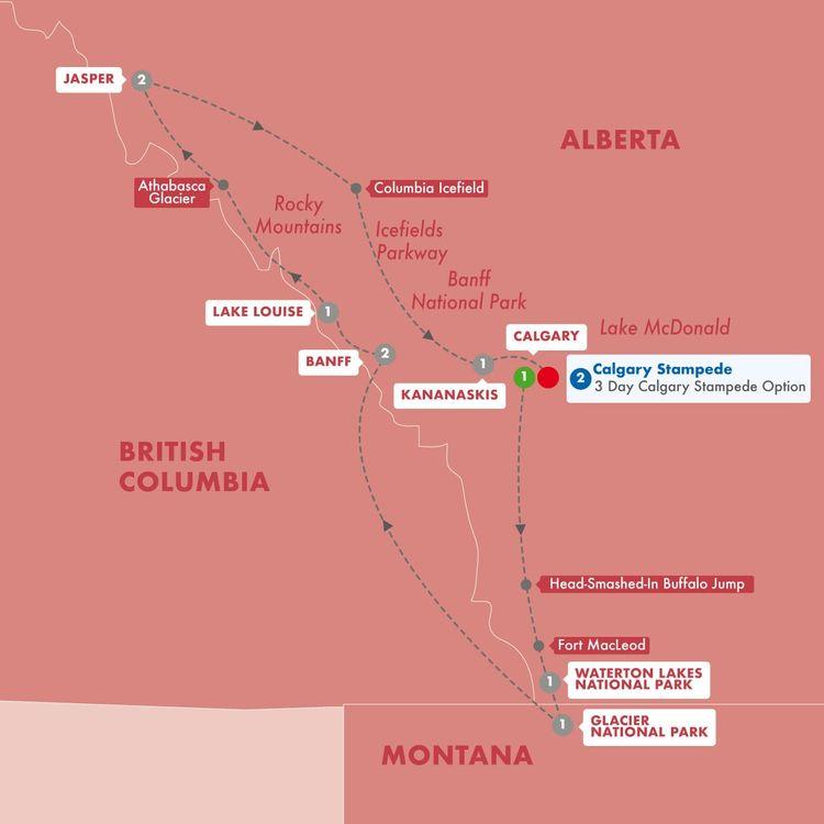 Secrets of the Rockies & Glacier National Park