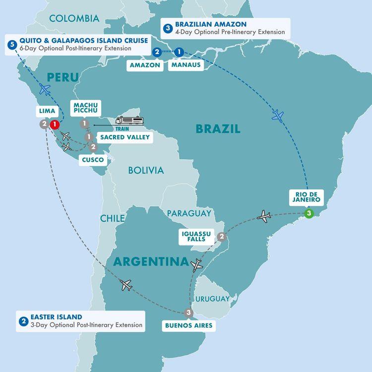 South America Revealed