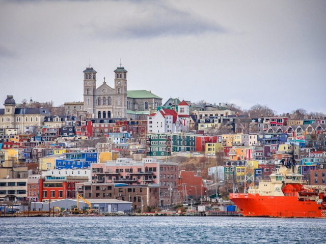 Colourful Newfoundland | St John's Harbour, Newfoundland, Canada