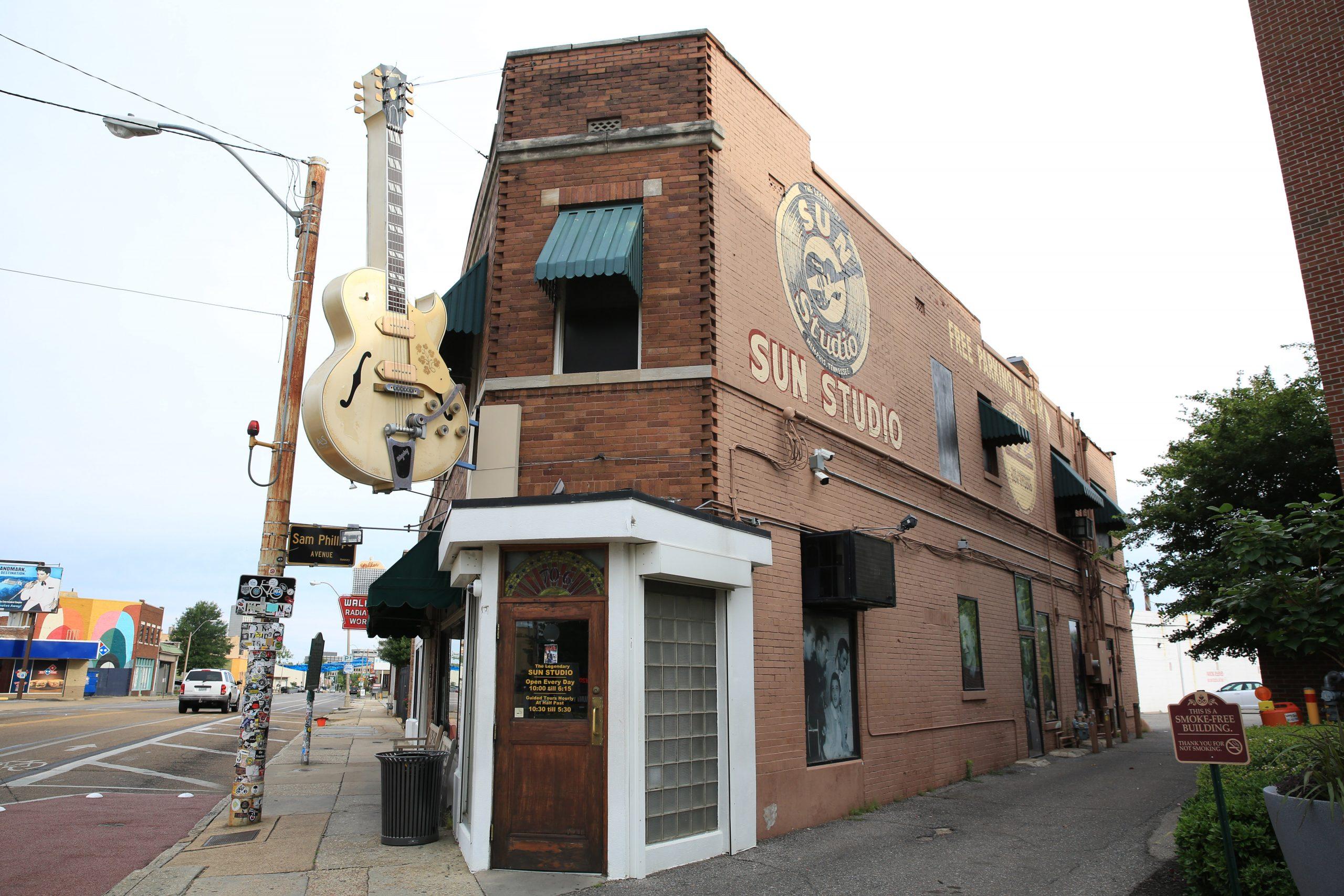 Music Cities: Nashville & Memphis | Sun Studio, Memphis, Tennessee, USA