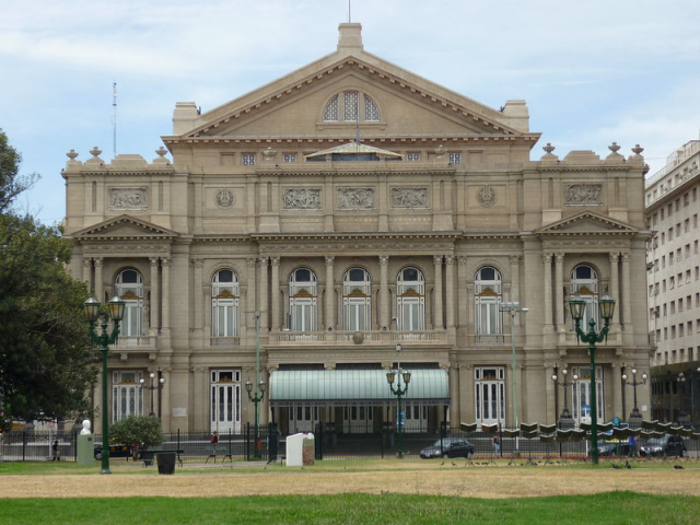 Impressions of South America | Teatro Colon, Buenos Aires, Argentina