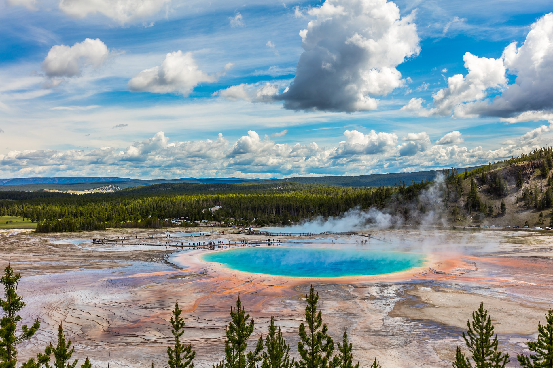 Five Epic National Parks | Yellowstone National Park, Wyoming, USA