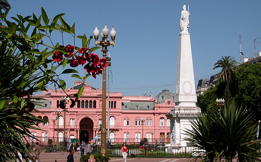 Buenos Aires Tango Stopover | Casa Rosada, Presidential Palace, Buenos Aires, Argentina
