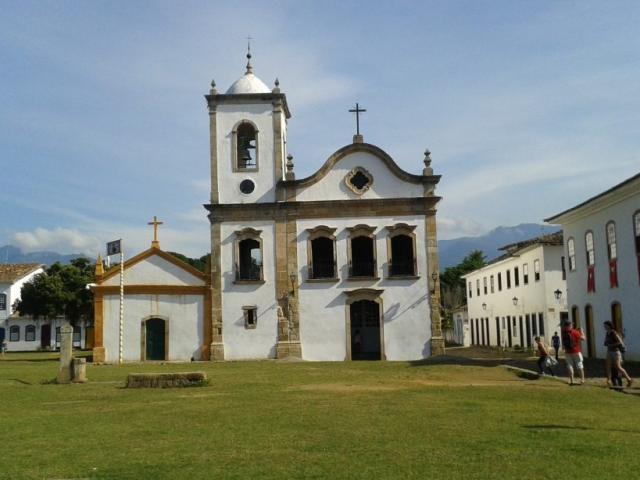 Escape to Ilha Grande & Paraty | Santa Rita de Cássia Church, Paraty, Brazil