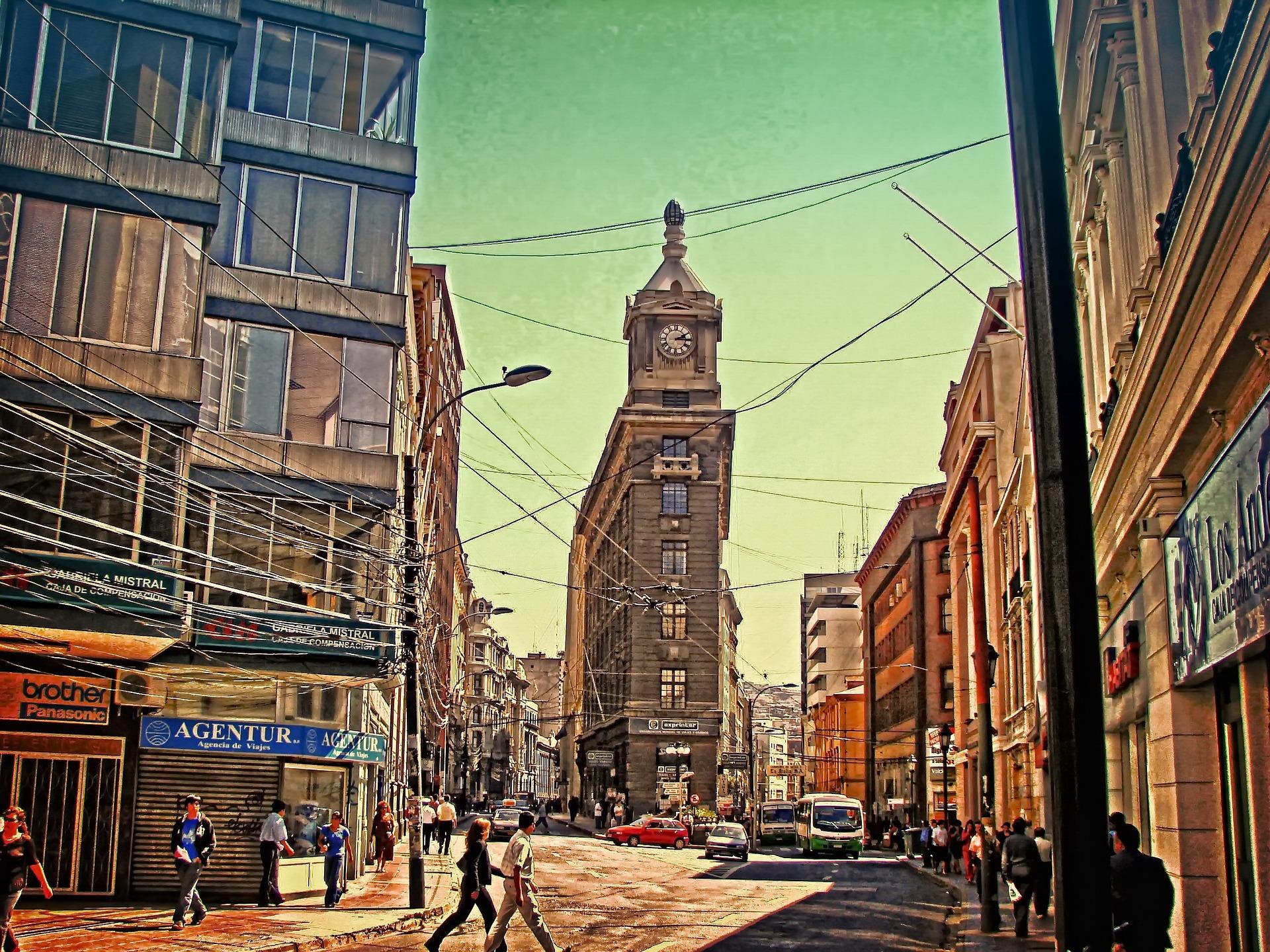 Discover Valparaiso | Turri Clock, Valparaiso, Chile