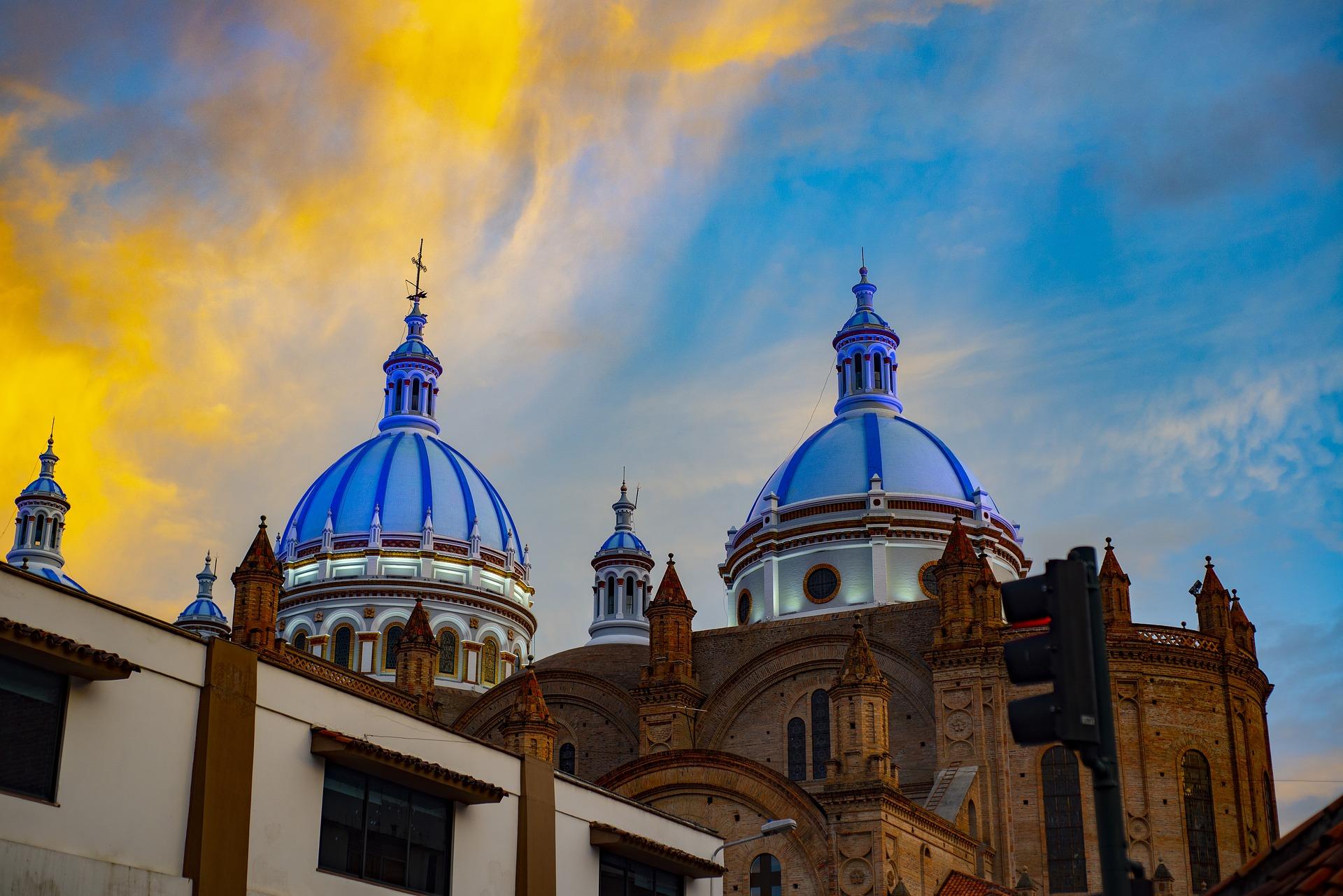 Pathways Through The Andes | Cathedral of Cuenca, Ecuador