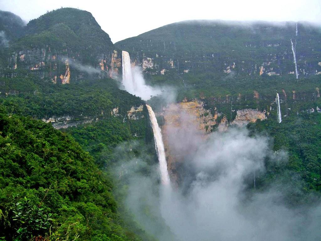 Ancient Cultures & Waterfalls | Gocta Waterfall, Peru