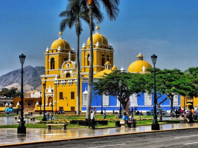Best of Northern Peru | Plaza de Armas, Trujillo, Peru