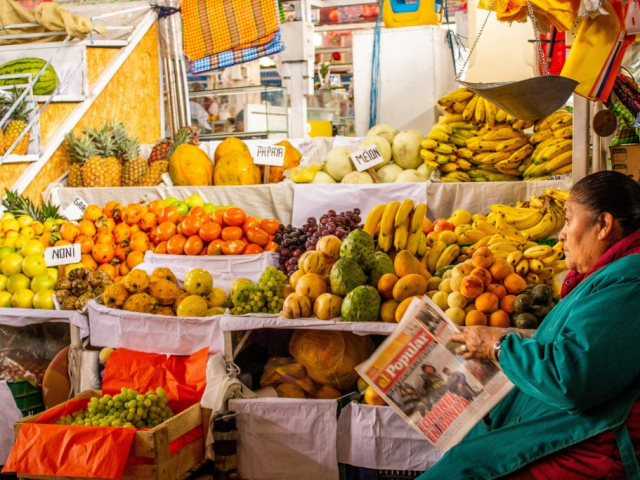 History & Fine Food | San Pedro Market, Cusco, Peru