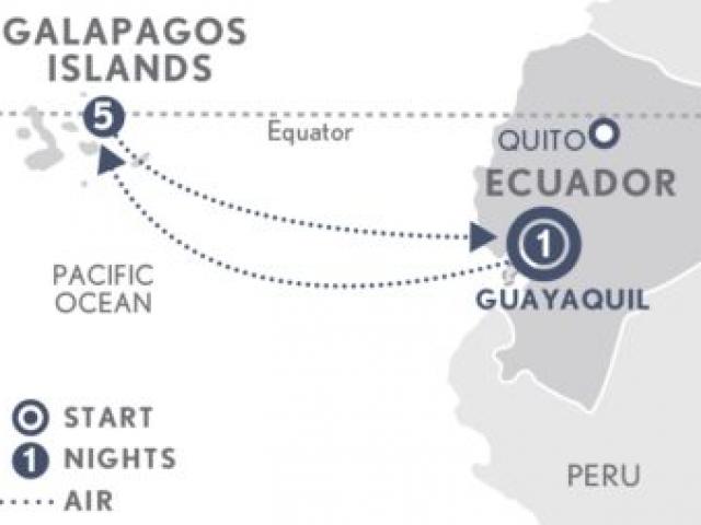 Ecuador: Galapagos by Land
