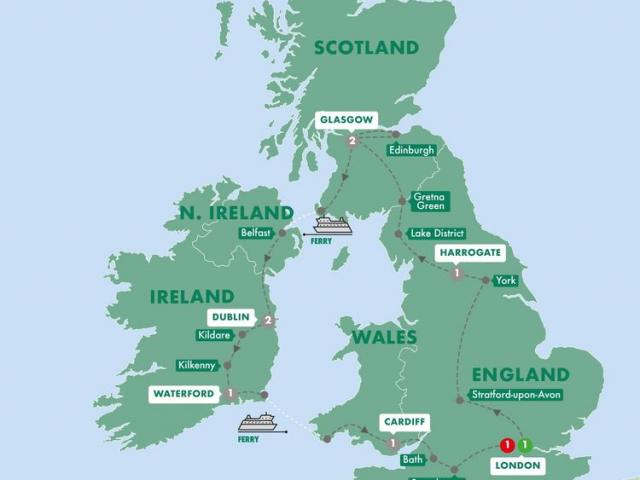 Britain & Ireland Highlights