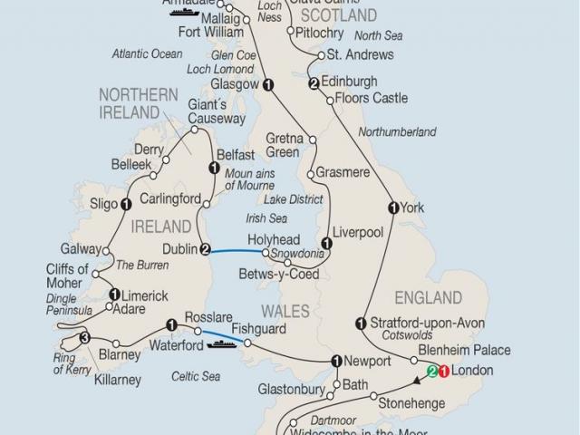 Britian & Ireland in Depth
