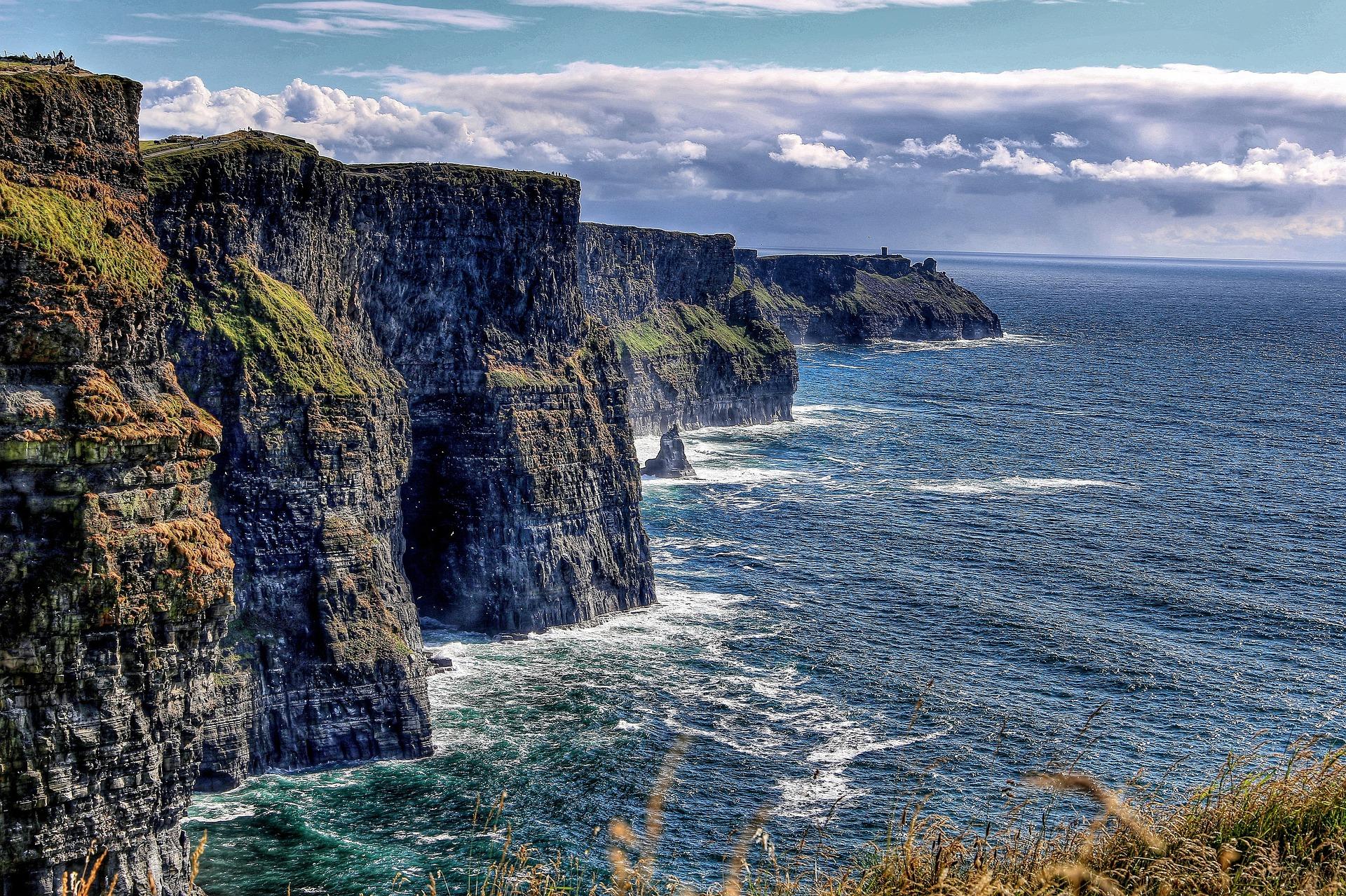 Celtic Highlights   Cliffs of Moher, Ireland, UK