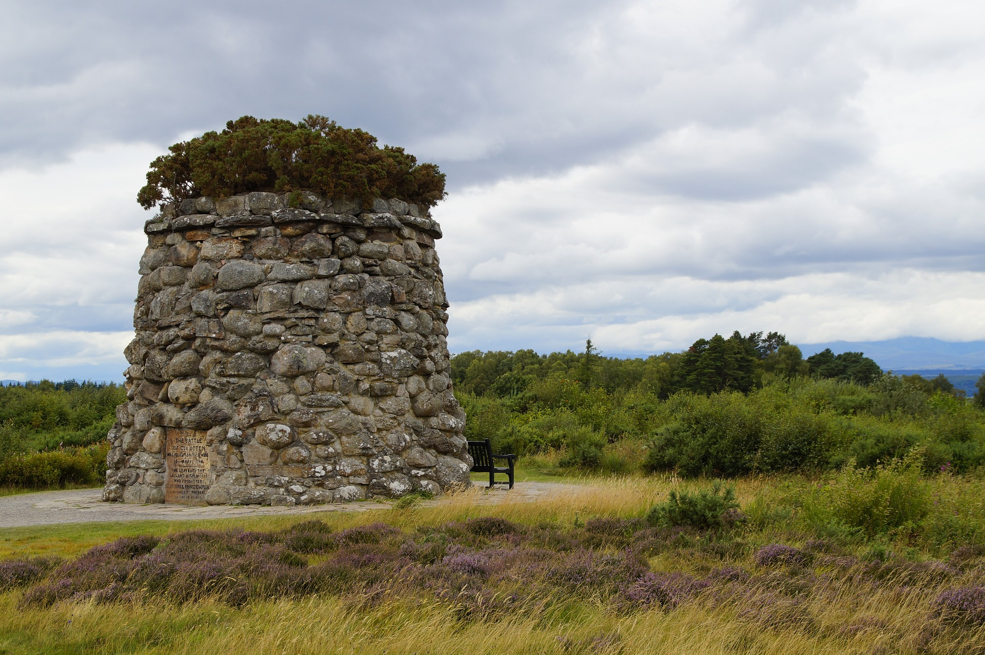 Essential Britain | Culloden Moor Memorial, Inverness, Scotland, UK