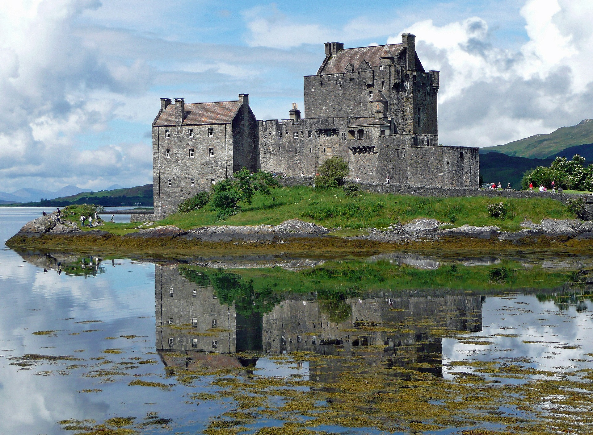 Romantic Britain & Ireland | Eilean Donan Castle, Island in Loch Duich, Scotland, UK