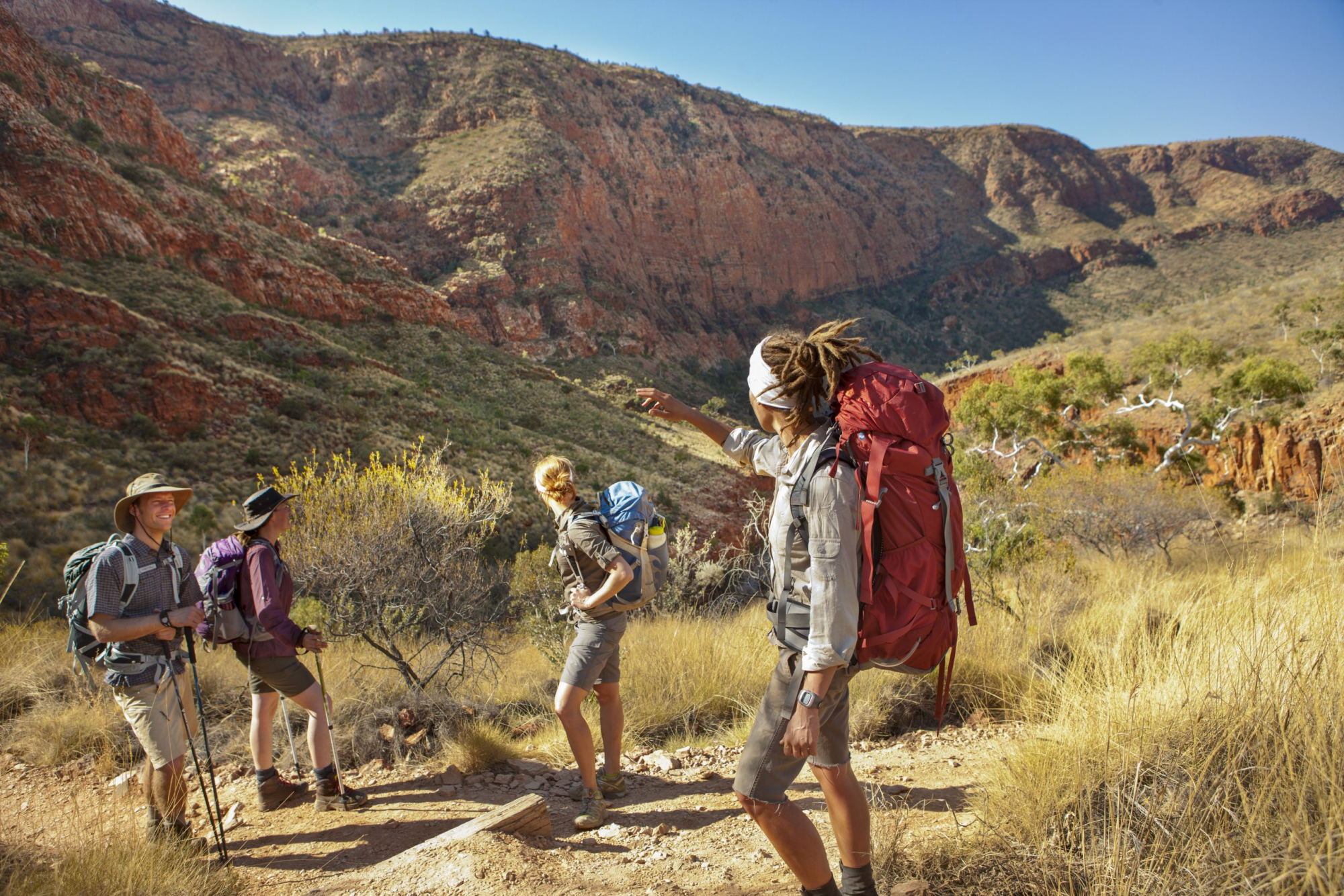 Classic Larapinta Trek in Comfort | Hiking the Larapinta Trail, Red Centre, Northern Territory