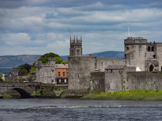Romantic Britain & Ireland | King John's Castle,Limerick, Ireland, UK