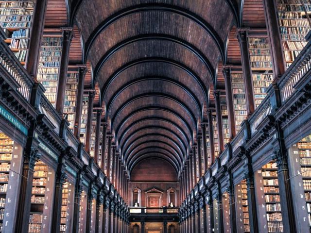 Britain & Ireland Highlights | Trinity College Library, Dublin, Ireland