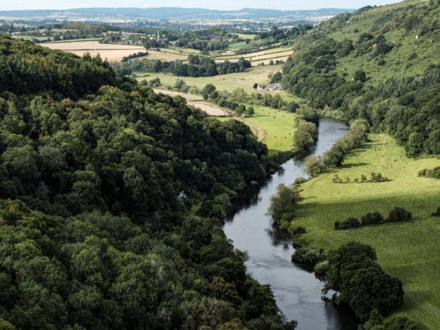 Amazing Britain | Wye Valley, Wales, UK