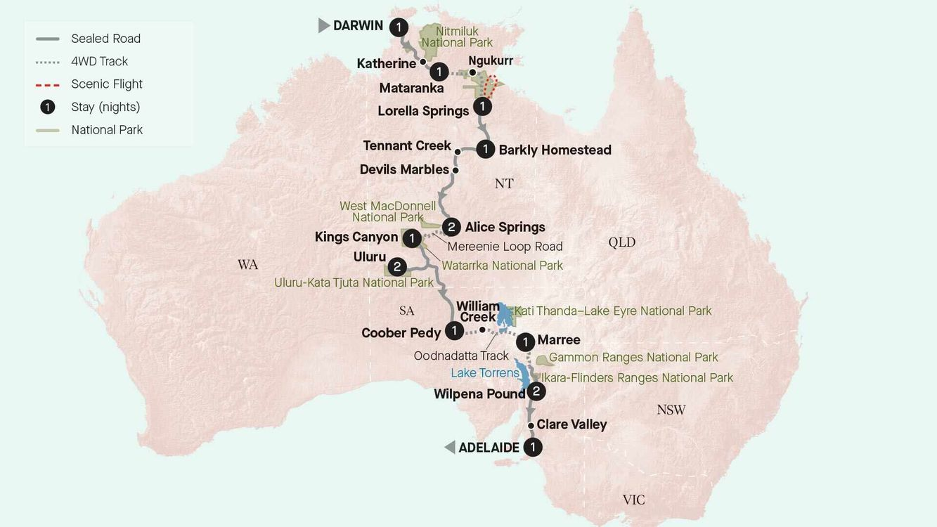 Central Australian Discovery